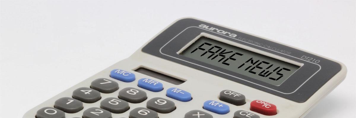 Fake News Calculator
