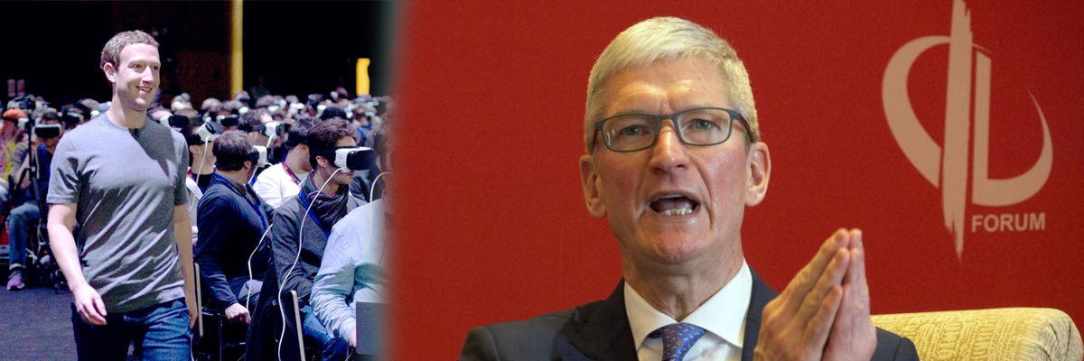 The pot calling the kettle black Part 2: Tim Cook criticizes Facebook for out-Appling Apple